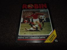 Bristol City v Cambridge United, 1980/81